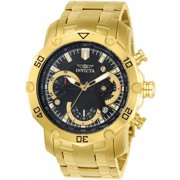 Invicta Men's Pro Diver 22767 Gold Tone Chronograph Bracelet Watch