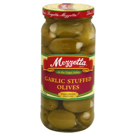 - GL Mezzetta Mezzetta  Stuffed Olives, 10 oz