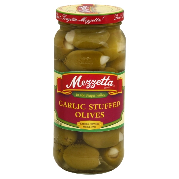 GL Mezzetta Mezzetta  Stuffed Olives, 10 oz