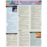 BarCharts 9781423215110 U.S. Government Terminology Quickstudy Easel