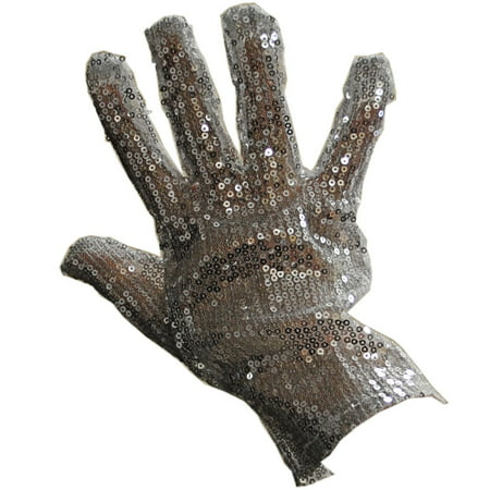 Right Handed Silver Sequin Glove Michael Jackson MJ