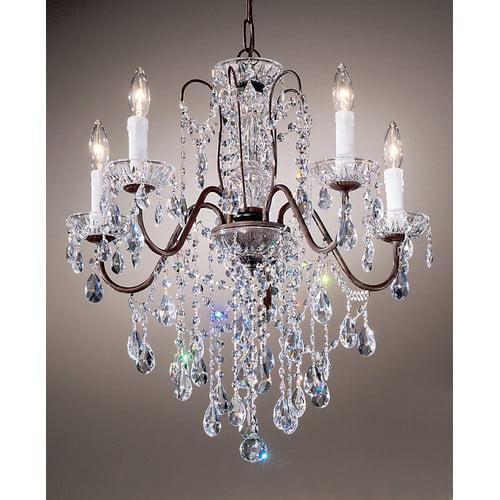 Classic Lighting Daniele 5 Light Chandelier