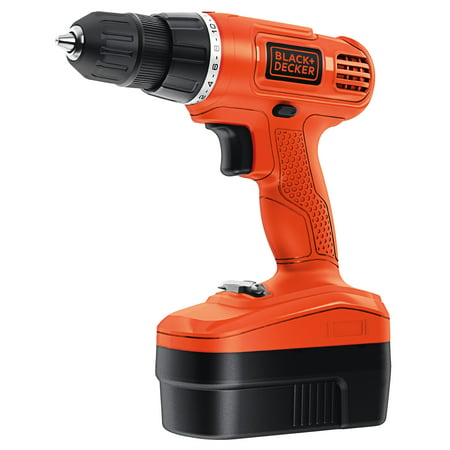 black decker gc1801 18 volt ni cad cordless drill driver. Black Bedroom Furniture Sets. Home Design Ideas