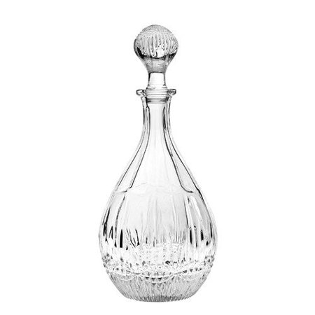 46 Oz Regency 13 Non Leaded Crystal Wine Decanter With Stopper