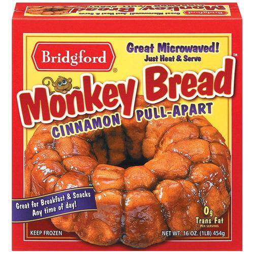 Bridgford Cinnamon Pull-Apart Monkey Bread, 16 Oz