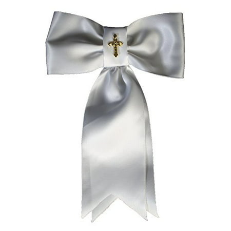 Lito Boys White Gold Cross First Communion Arm Band - image 1 de 1
