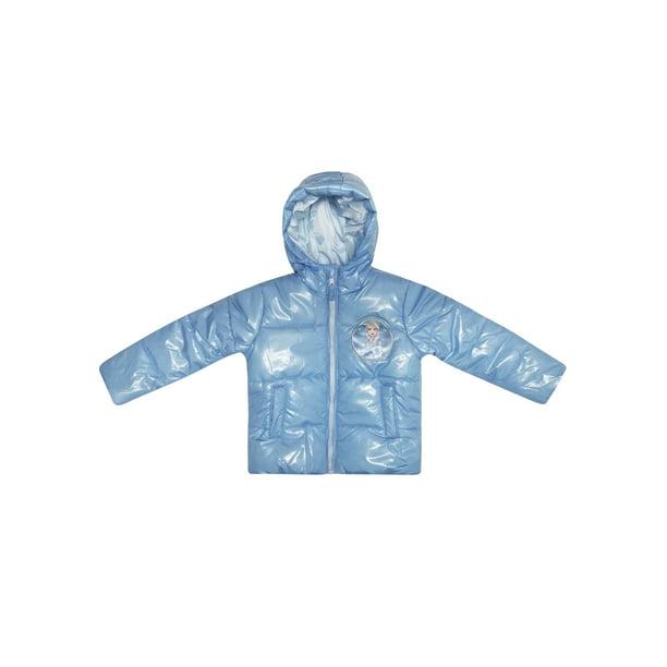 Frozen 2 Elsa Toddler Girl Metallic Winter Jacket Coat
