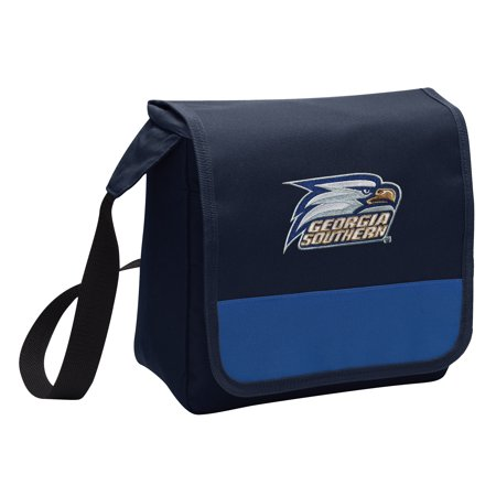 OFFICIAL Georgia Southern Eagles Lunch Bag Mens or Womens Georgia Southern Lunch Box Cooler with Shoulder - Georgia Tech Lunch