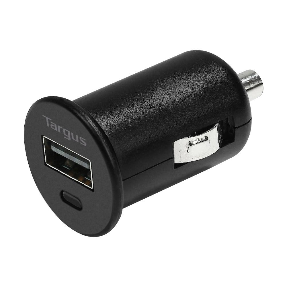 Targus Universal USB Car Charger for iPad, iPad 2, The New iPad, Tablets and Smartphones (Black)