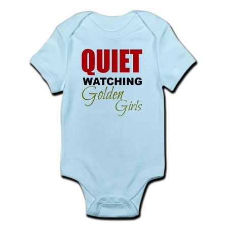 CafePress - Quiet Watching Golden Girls Body Suit - Baby Light Bodysuit ()