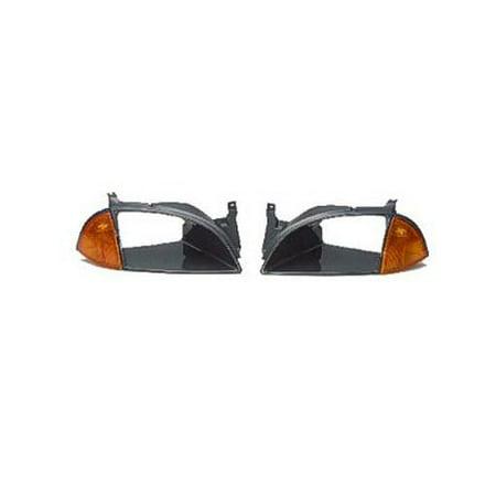 Go-Parts » 1995 - 1997 Geo Metro Headlight Door - (Brand: LKQ) - Right (Passenger) Side - (Base 1.0L, 1.3L Sedan + Base 1.0L, 1.3L Hatchback + Base 1.0L Sedan + Base 1.0L Hatchback + LSi 1.0L, 1.3L)
