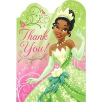 Princess and the Frog 'Sparkle' Thank-You Cards w/ Envelopes (8ct)