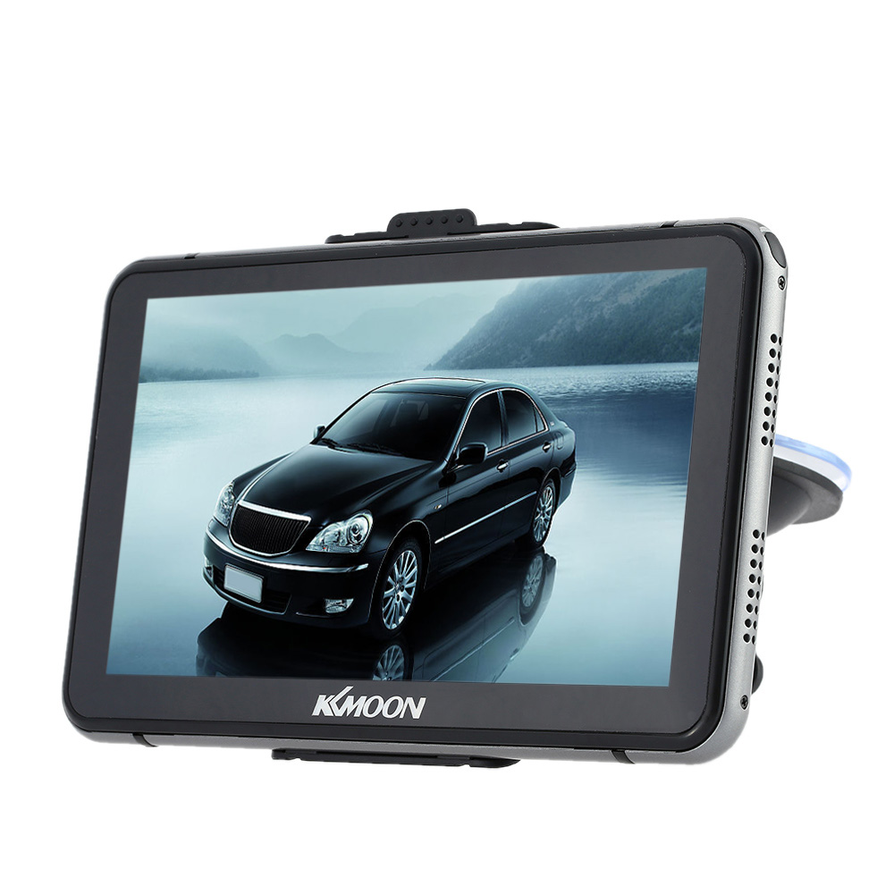 """KKmoon 7"""" HD Touch Screen Portable GPS Navigator 128MB RAM 4GB ROM FM MP3 Video Play Car Entertainment System with Handwriting Pen +Free Map"""