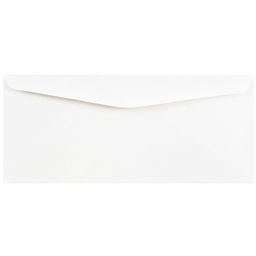 JAM Paper # 10 Commercial Envelopes, 4 1 8 x 9 1 2, White, 100 pack by JAM Paper & Envelope