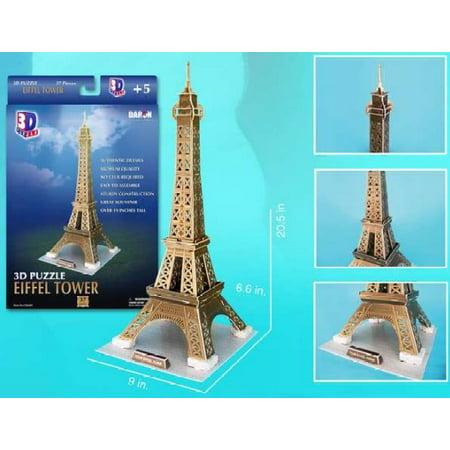 Eiffel Tower (Paris, France) 3D Foam Puzzle (37pcs)](Eiffel Tower Puzzle)