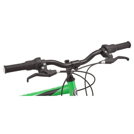 Roadmaster Granite Peak Mountain Bike, 24-inch wheels, Boys style, Green