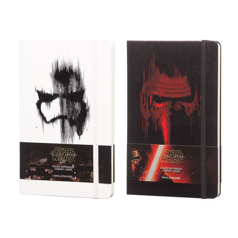 Moleskine - Star Wars Limited Edition Large Ruled Notebook - Storm Trooper