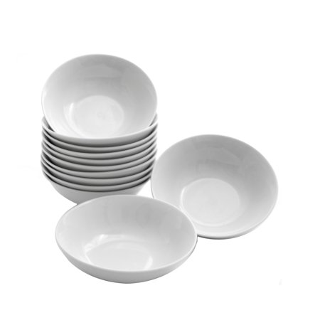10 Strawberry Street Caterers Set Round Cereal Bowl Set of 12 - 7 in.