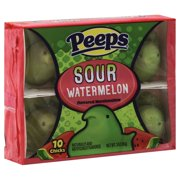 Peeps Sour Watermelon Chicks Easter Candy, 3 Oz.