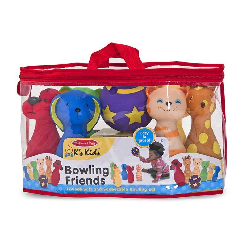 Melissa and Doug Bowling Friends Preschool Playset by Melissa %26 Doug