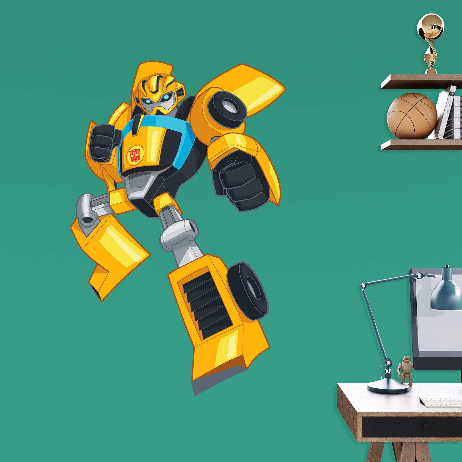 Fathead Transformers Rescue Bots Bumblebee Junior Wall Decal