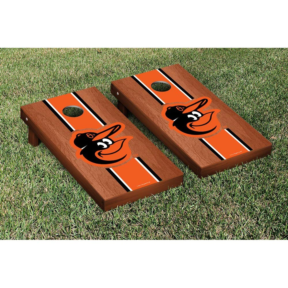Baltimore Orioles Rosewood Cornhole Game - No Size