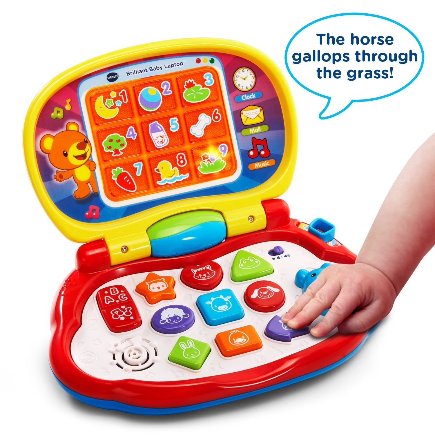 Brilliant Baby Laptop Explore And Learn With The Brilliant Baby