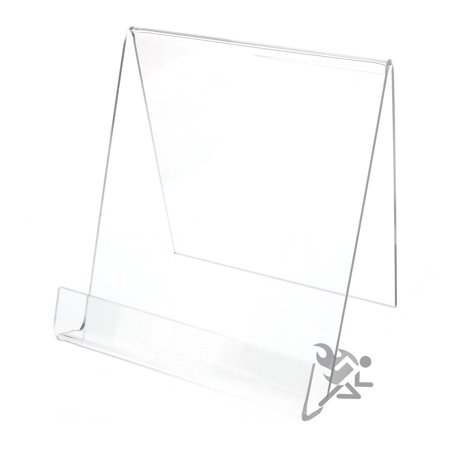 OnFireGuy Acrylic Book Display Stand Easel for Items up to 7/8
