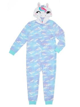 Saint Eve Hooded Blanket Sleeper Onesie (Little Girls and Big Girls)