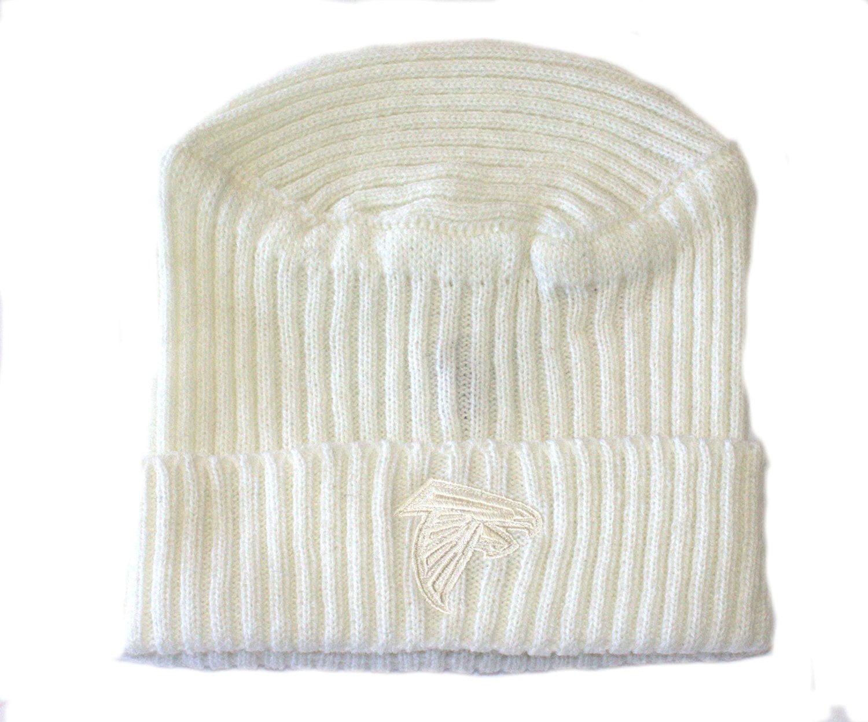 Atlanta Falcons Cuffed Ribbed Knit Beanie Hat by