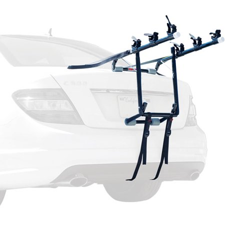 Allen Sports Deluxe 3-Bicycle Trunk Mounted Bike Rack Carrier,