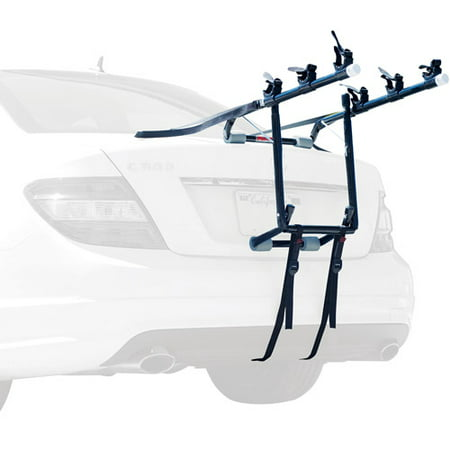 Allen Sports Deluxe 3-Bicycle Trunk Mounted Bike Rack Carrier, 103DB (Deluxe Trunk Mount Bike Carrier)