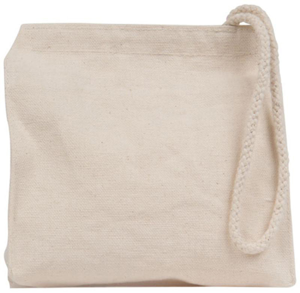 "ECO-BAGS - Natural Cotton Mini Snack Bag - 6""W x 6""H"