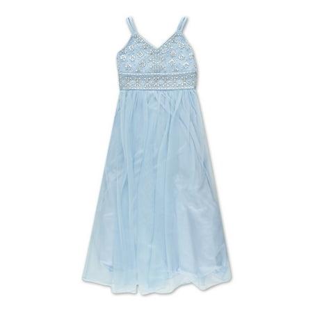 - Embellished Long Occasion Dress (Big Girls)