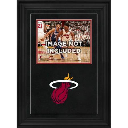 "Miami Heat Deluxe 8"" x 10"" Horizontal Photograph Frame with Team Logo"