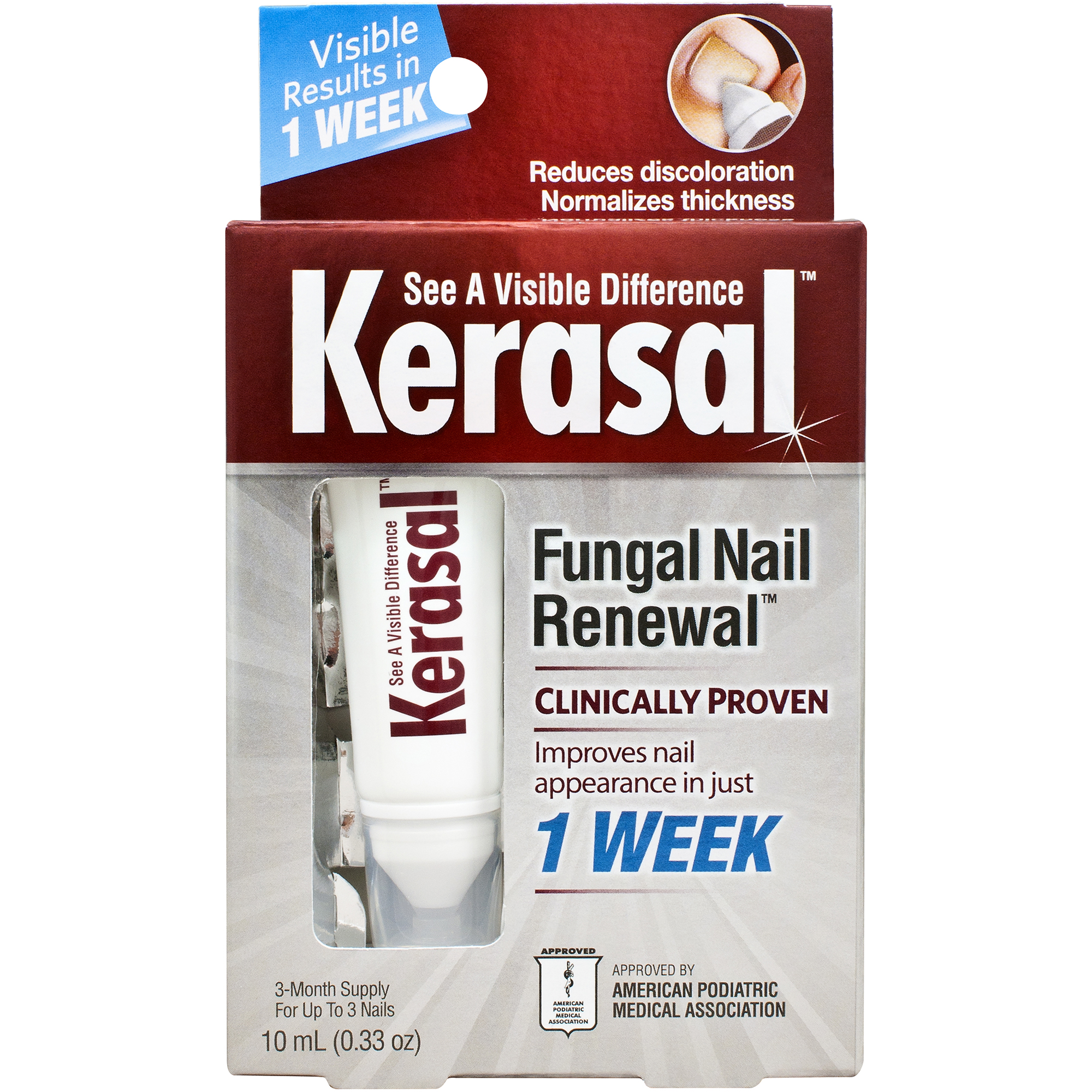Kerasal Nail Fungal Nail Renewal Treatment 33 Oz Walmart Com