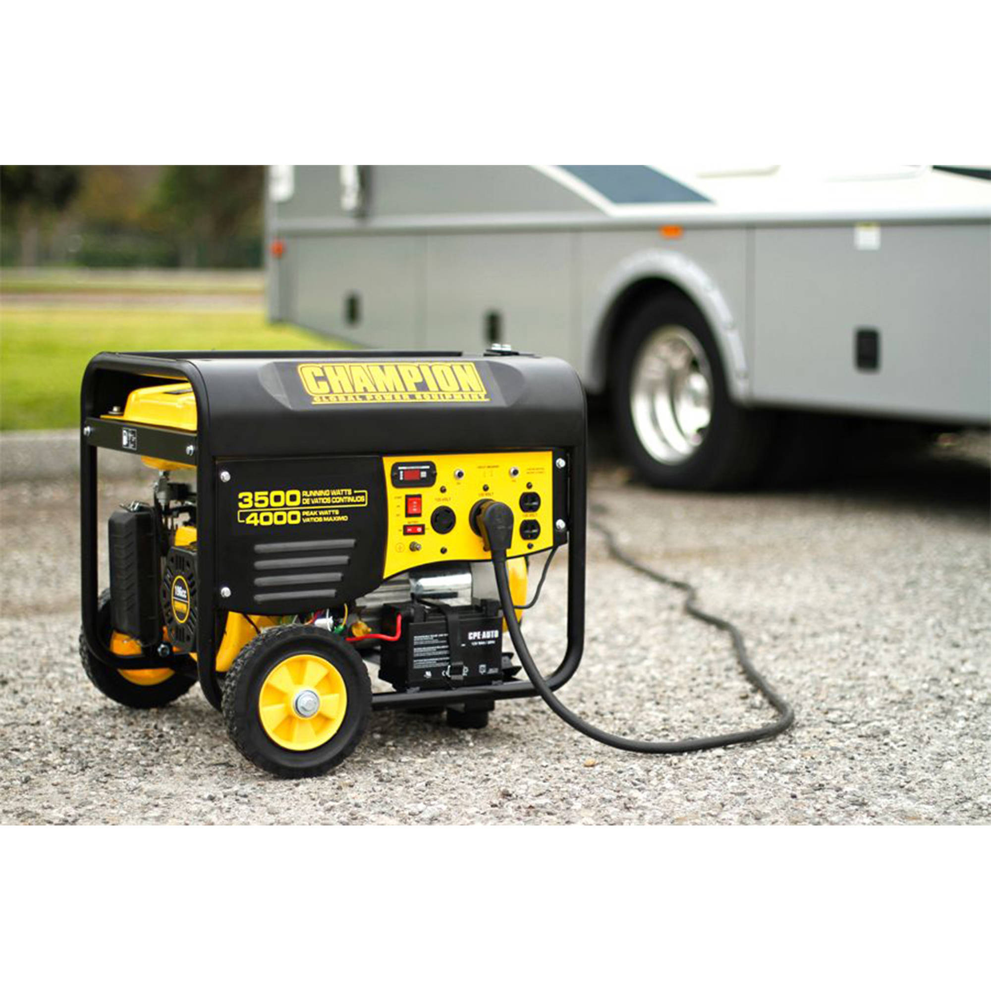 Champion 3500 Watt RV Ready Portable Generator with Wireless