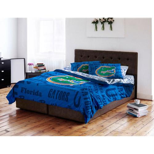 NCAA Anthem Bedding Comforter Set with Sheets, University of Florida