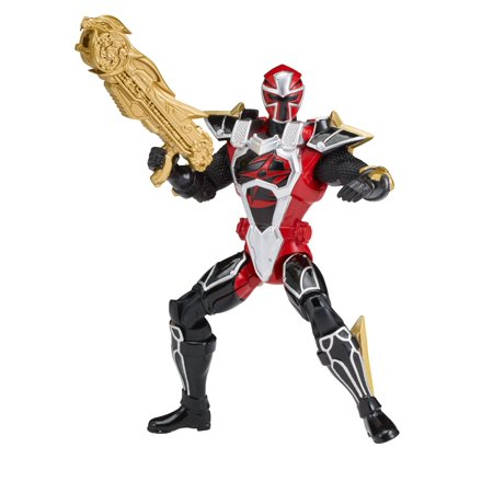 Power Rangers Super Ninja Steel Mode Red 6.5 inch Ranger Action Figure - The Red Ninja
