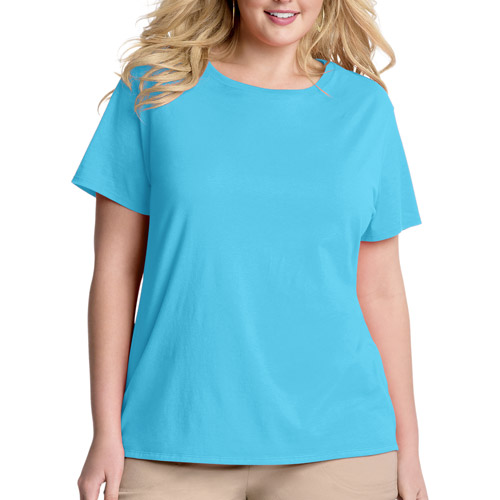 Just My Size by Hanes Women's Plus-Size Essential Scoopneck Tee