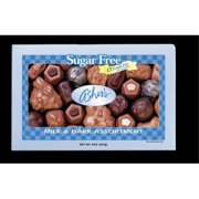 Asher's Assorted Chocolates 7.5 oz. Gift Box Sugar Free