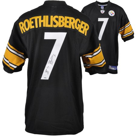 quality design 09dac 071b8 Ben Roethlisberger Pittsburgh Steelers Autographed Reebok ...