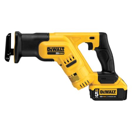 DeWALT DCS387P1 - 1-1/8u0022 20V 5.0Ah Li-Ion Cordless Variable Speed D-Handle Compact Reciprocating Saw Kit
