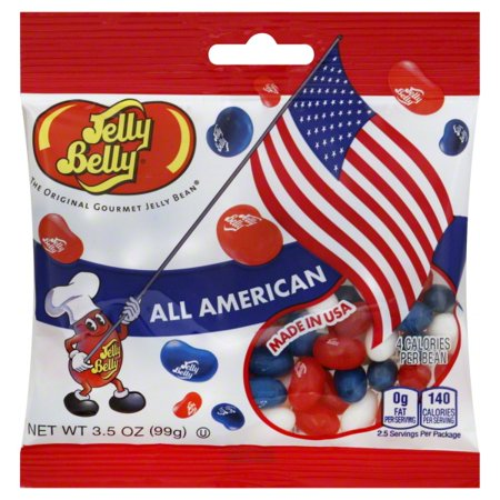 Jelly Belly, All American Jelly Beans, 3.5 - Nerds Jelly Beans