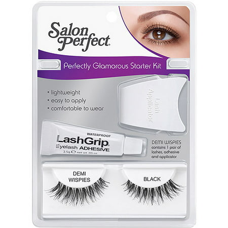 Salon perfect perfectly eyelashes starter kit demi for Hair salon perfect first essential