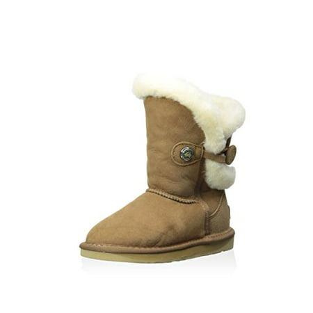Australia Luxe Collective Kid's Nordic Short Boot, Chestnut, 4 M US Big