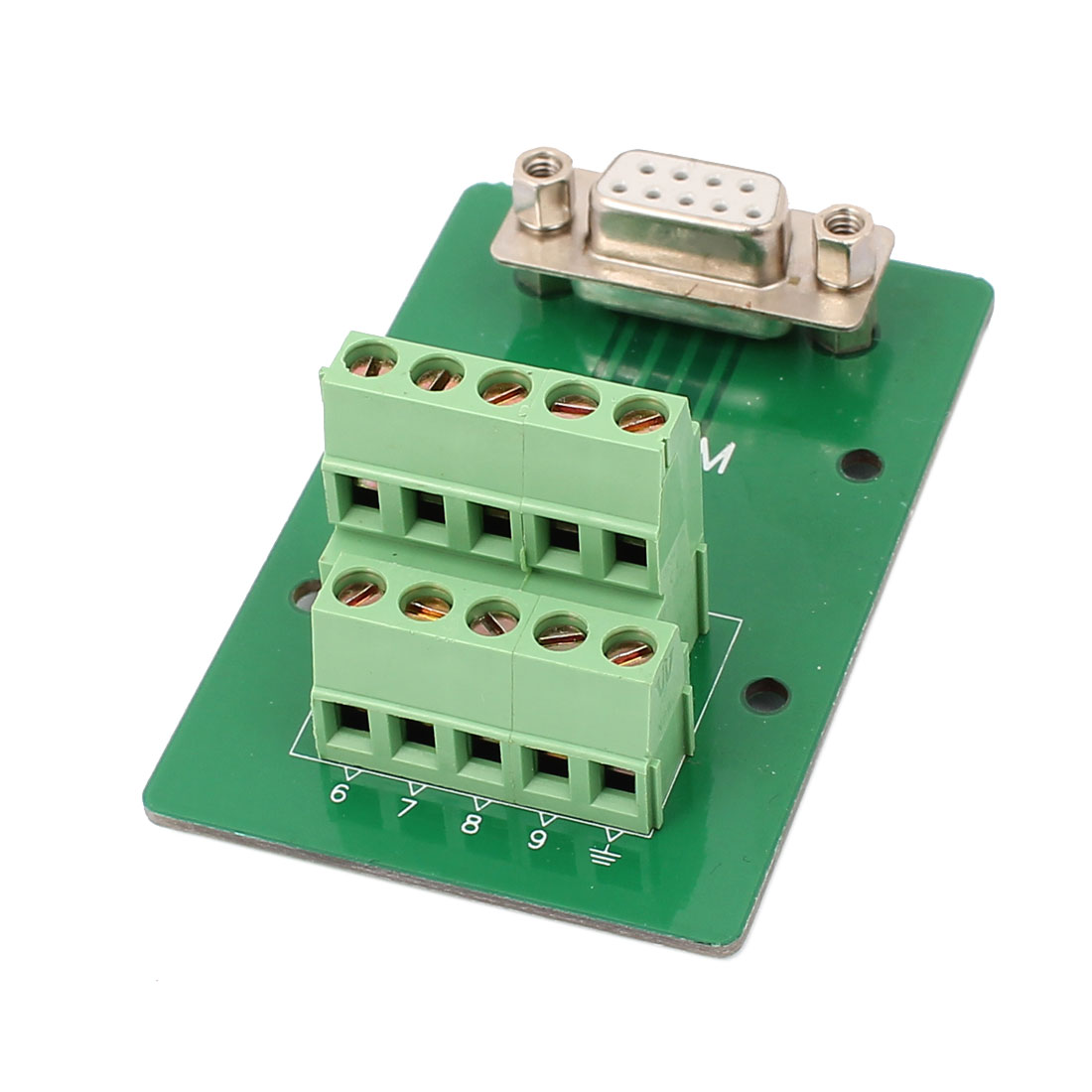 DB9 9 Pin Female Adapter Plate RS232 Serial to Terminal Signal Module - image 2 of 3