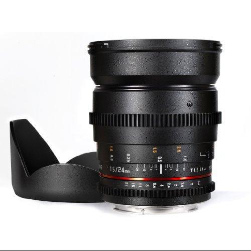 Samyang Cine SYCV24M-C 24mm T1.5 Cine Wide Angle Lens for...
