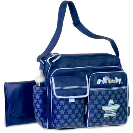 child of mine diaper bag blue. Black Bedroom Furniture Sets. Home Design Ideas