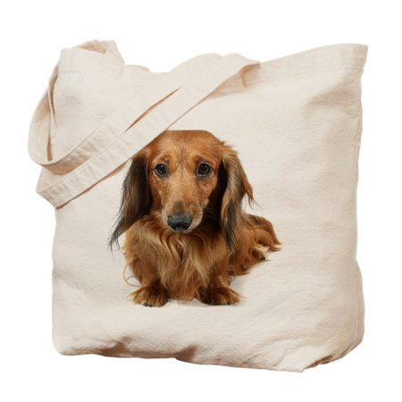 cb27f08e4ea CafePress - Dog Long-Haired Dachshund Pet - Natural Canvas Tote Bag ...